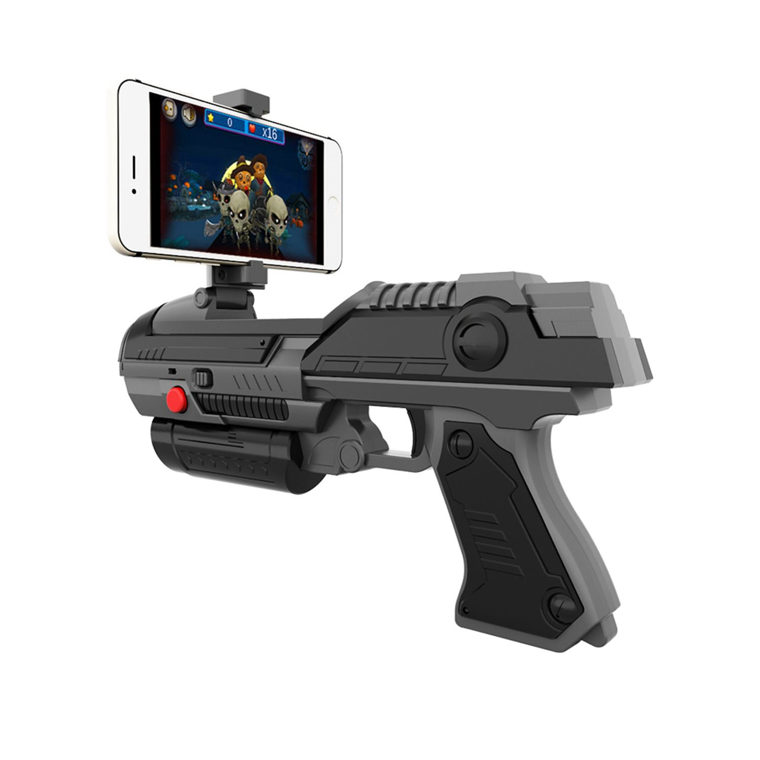 VR Game AR GUN Shooting Game Smartphones Bluetooth Control Toy For IOS Android Air Guns