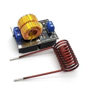 Image 2 - ขายร้อน5 12V 120W Mini ZVS Inductionเครื่องทำความร้อนเครื่องทำความร้อนDriver DIYหม้อหุงข้าว + Ignition coil