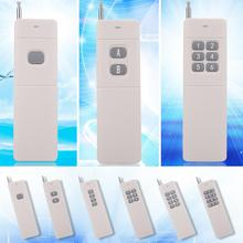 New 433MHz 3000m 1/2/4/6/8/12 Buttons High Power Wireless Remote Control