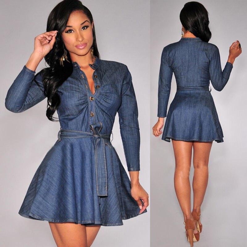 Just quella sexy denim dresses for women adjustable spaghetti strap mini bodycon dress
