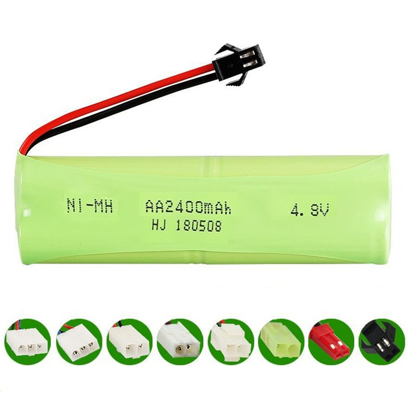 4.8v 2400mah Battery ni-mh Battery AA NIMH 4.8v battery pack for RC toy Car Boat model RC toy Battery4.8v 2400mah Battery ni-mh Battery AA NIMH 4.8v battery pack for RC toy Car Boat model RC toy Battery