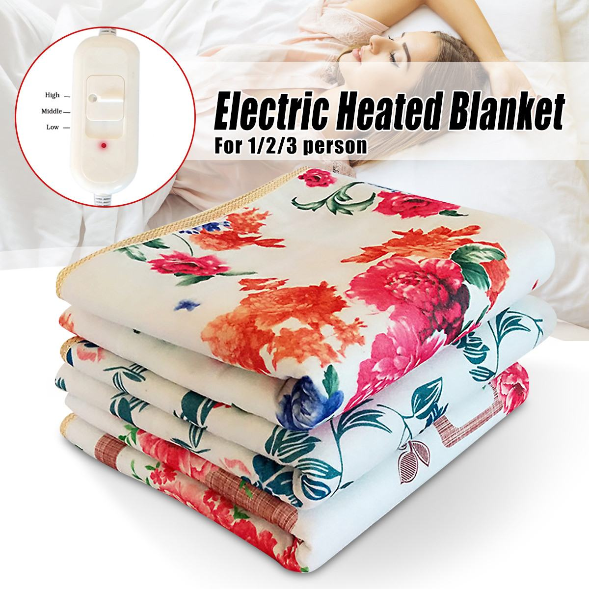Portable Handy Electric Blanket Easy Convenient Bedroom Heater Electric Heater Blanket For Body Bed Warmer Electric Handy Heater