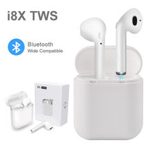 i8X TWS Wireless Headphones Earbud Bluetooth 4.2 Stereo Earphone For iPhone Android All Smart Phone air Pods With Charging Box(China)