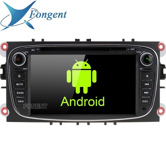 Lecteur multimédia voiture 2 din DVD   IPS, android 9.0, pour Ford Focus, Mondeo Focus, C S Max Kuga Galaxy, Radio GPS, Sterei