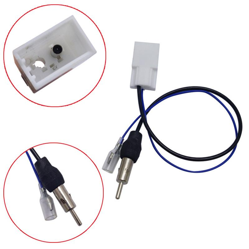 Professional Car Radio Antenna Adapter Cable Female Adapter Style For Toyota Randomly Delivery Color Car Accessories