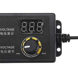 Image 3 - LEORY Универсальный светодиодный адаптер питания, 3 24 В, 1,5 А, с регулируемым напряжением, вилка стандарта ЕС и США