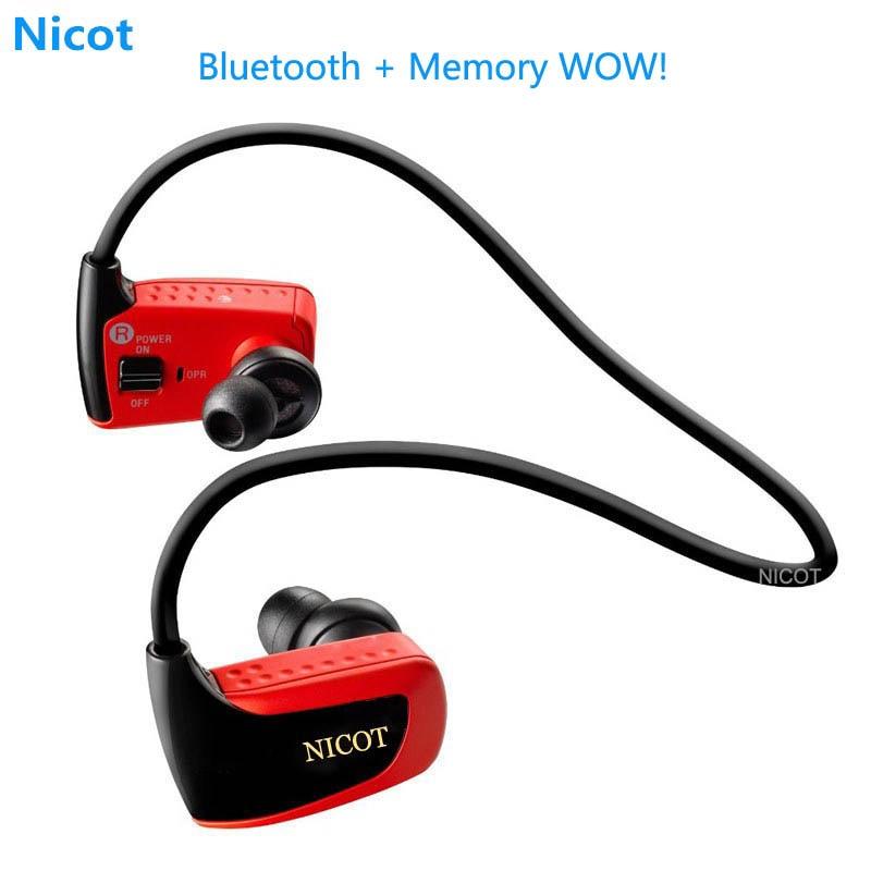 Consumer Electronics W262 8gb Bluetooth Mp3 Player Music Headset Sport Running Mp3 Player Headphone Earphone Player High Sound Quality Pk W273 Nicot