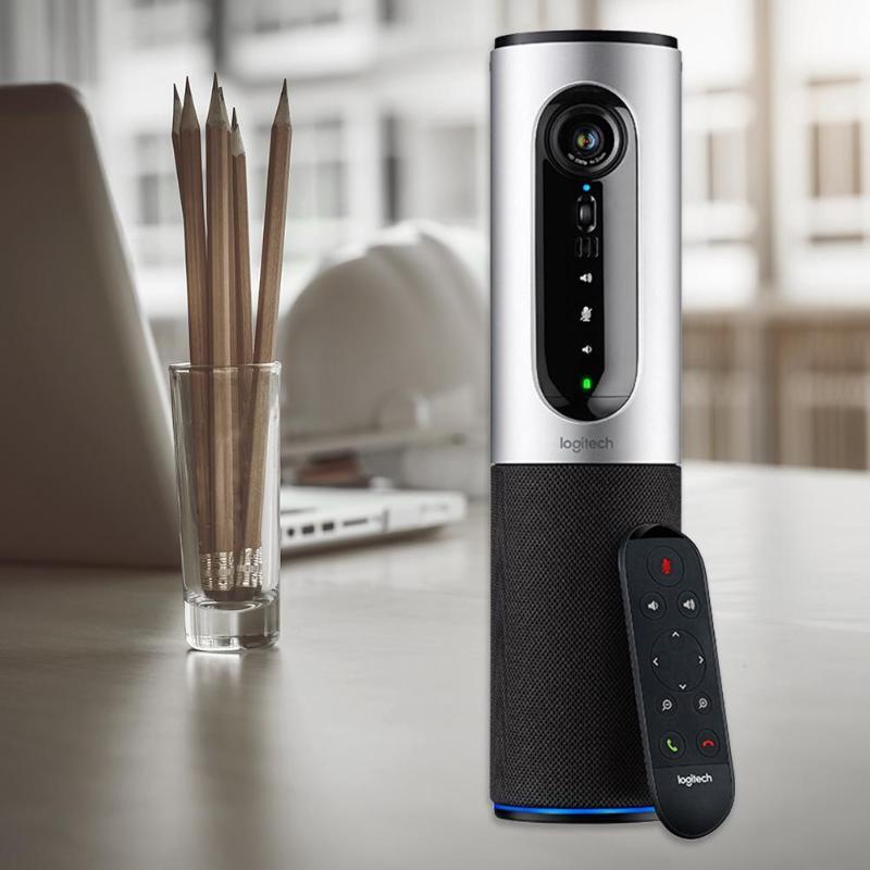Logitech CC2000e haut-parleur vidéo conférence Webcam connecter Full HD 1080 P 30FPS USB filaire Webcams avec télécommande - 6