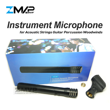 Free Shipping! PG81 Professional Cardioid Instrument Dynamic Microphone 81 Mic for Acoustic Strings Guitar Percussion Woodwinds
