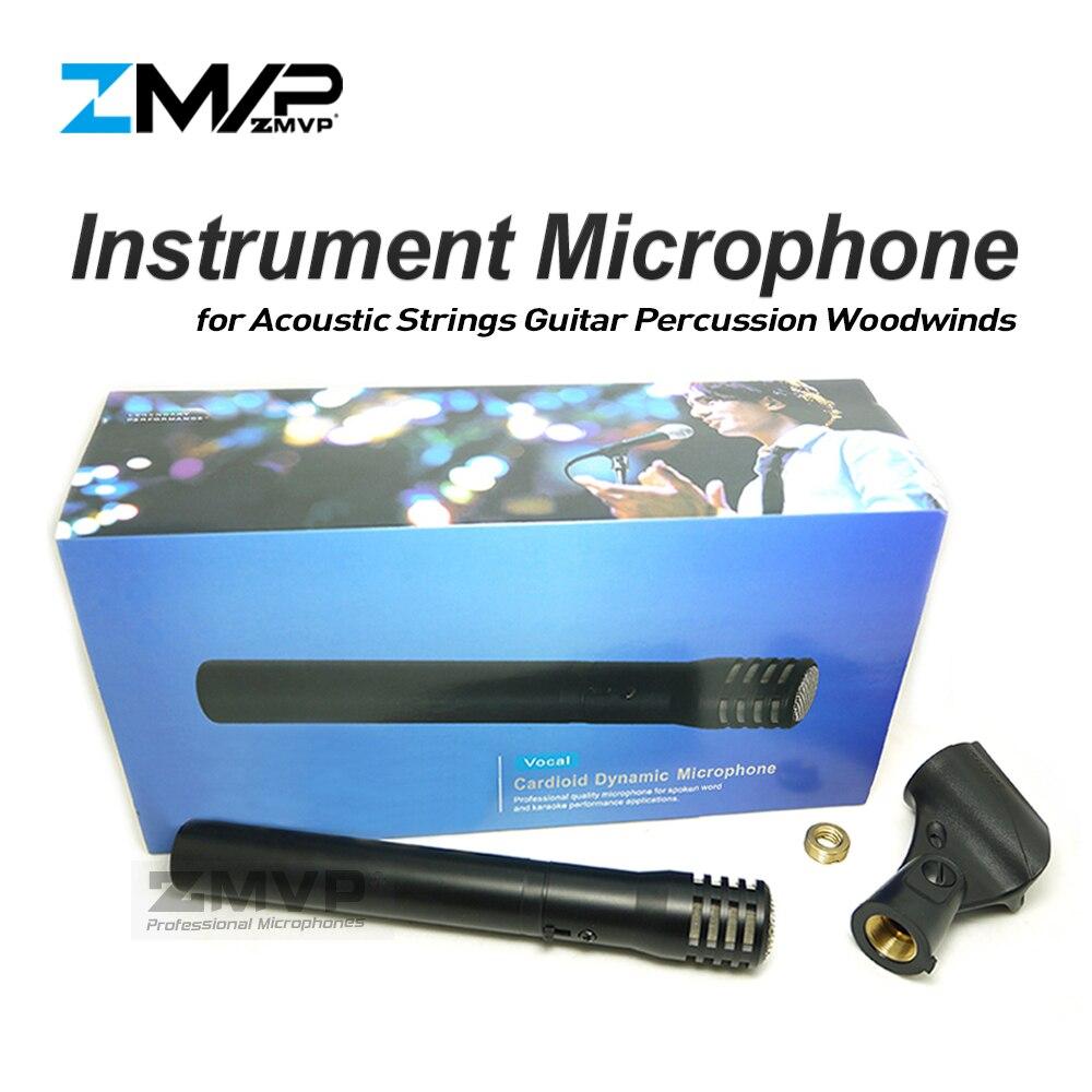 Livraison Gratuite! P81 Instrument cardioïde professionnel micro dynamique 81 micro pour cordes acoustiques guitare percussions bois