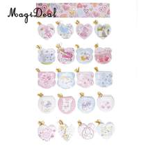 160pcs Birthday Wish Greeting Message Cards Hanging Notes Baby Shower Party Engagement Decoration