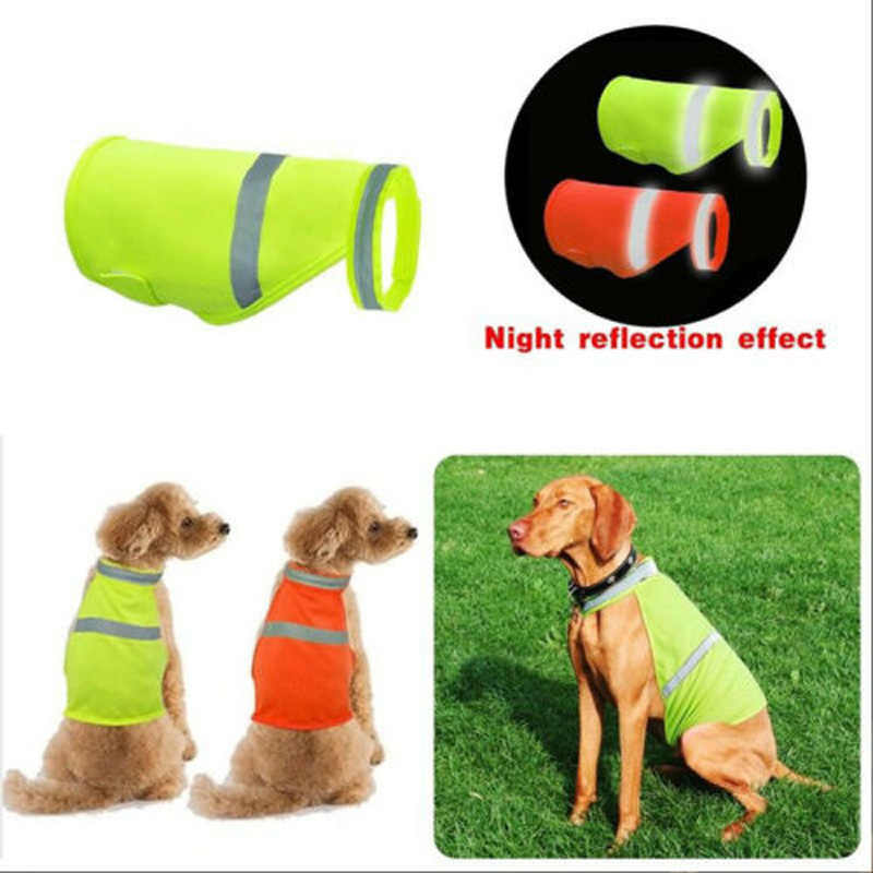 5a3adc5072187 ... Dog Safety Vest Reflective Small Large Pet Puppy Coat Clothes for  Hunting ...