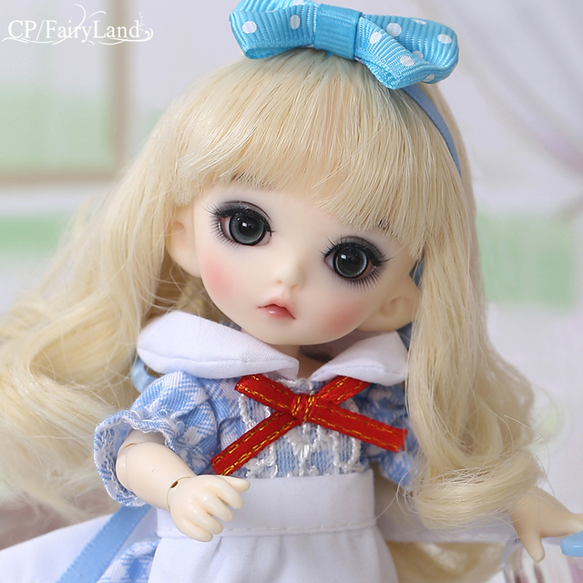 Free Shipping Pukifee Luna Doll BJD 1/8 Tiny Cute Ball Jointed Doll Resin Fairies Best Birthday Gift Toy For Girl Fairyland