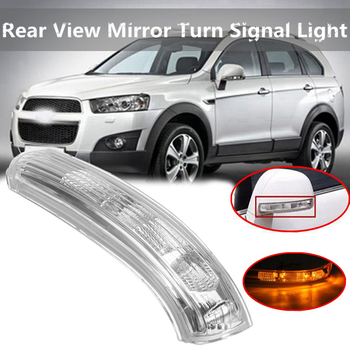 Car Rearview Mirror Turn Signal Light Left/Right Rear View Mirrors Lamp For Chevrolet/Captiva 2007-2016Car Rearview Mirror Turn Signal Light Left/Right Rear View Mirrors Lamp For Chevrolet/Captiva 2007-2016