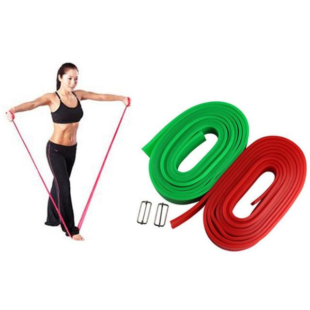 a6cd8ec27c Fitness Tension Band Strength Training Elastic Band Athletic Training  Resistance Belt Rubber Belt Yoga Elastic Belt