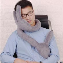 High grade Travel Pillow of bends For Airplane Multi-function Car Pillow Hand shape Neck Comfortable Memory office Pillows Head