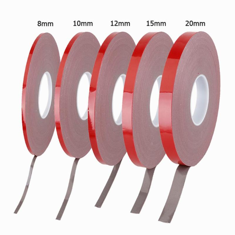 33M Strong Permanent Acrylic Foam Double-Sided Adhesive Glue Tape Super Sticky With Red Liner33M Strong Permanent Acrylic Foam Double-Sided Adhesive Glue Tape Super Sticky With Red Liner