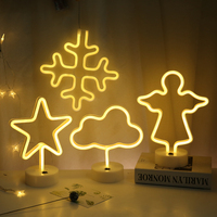Led neon children room layout background decoration wedding night light love(2AA batteries not included )