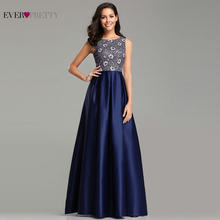8e3a3eecc Vestidos de Noche musulmán bonito elegante a-línea azul marino de encaje  largo Sexy vestidos de boda vestidos Rrobe Bleu real