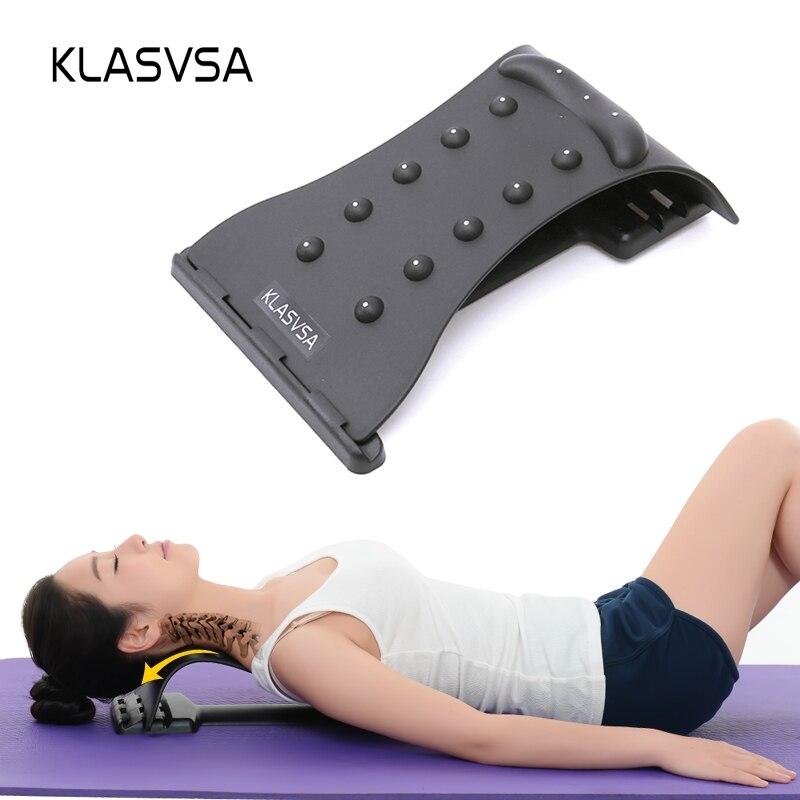 KLASVSA Neck Massage Zervikale traktion Schmerzen Relief Accupressure Magie Bahre Fitness Ausrüstung Stretch Entspannen
