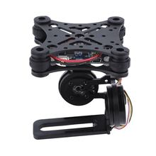 цена на Black Fpv 2 Axle Brushless Gimbal With Controller For Dji Phantom