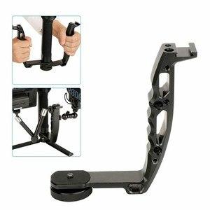 Image 3 - Top Deals Voor Dji Osmo Mobiele 2 Ronin S Handvat Mount Gimbal L Beugel Transmount Mini Dual Grip Voor Monitor led Licht M