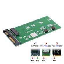 Cy M2 Ngff Ssd SATA3 Ssd S Turn Sata Adapter Uitbreidingskaart Adapter Sata Naar Ngff Hoge Capaciteit High power B/M KEY