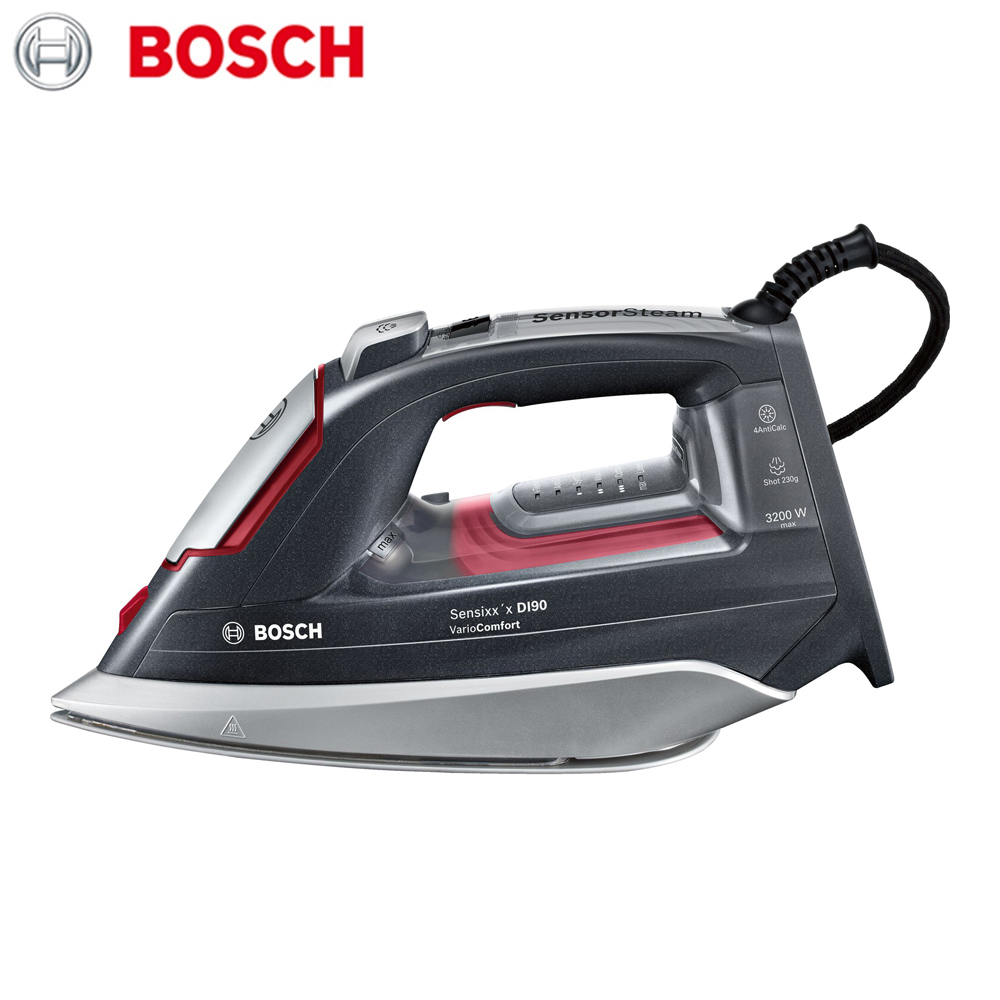 Electric Irons Bosch TDI953222V household appliances laundry steam iron ironing clothes цена