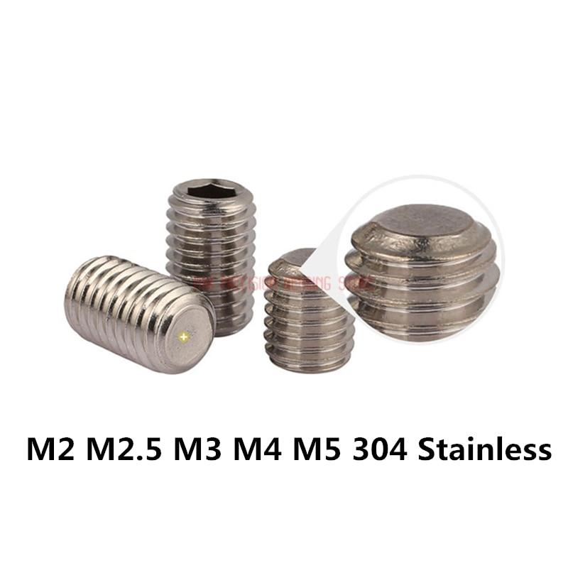 Mcbazel 240 PCS M4 Stainless Steel Hex Screw Nuts Bolt Cap Socket Assortment Set