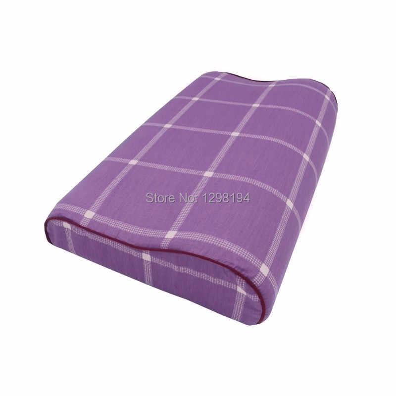 100% القطن الفراش المخدة كيس وسادة غطاء غرفة نوم السرير النوم ل رغوة الذاكرة وسادة وسادة لاتكس 50*30 سنتيمتر/60*40 سنتيمتر