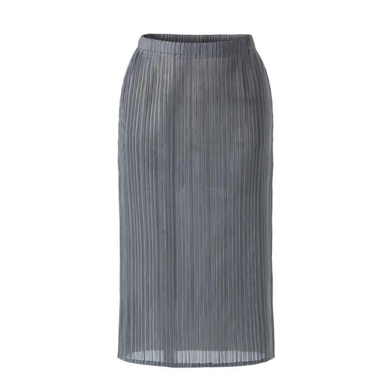 LANMREM 2020 Новая летняя плиссированная тонкая стильная женская одежда винтажная