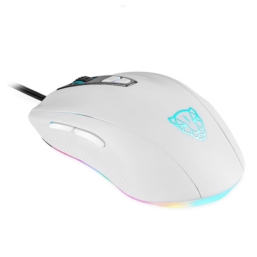 V60 Wired Gaming Mouse 7 Button Rato Computer Peripherals 4 Colors