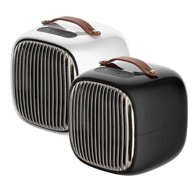 800 W Portable ventilateur chauffage Mini Smart espace chauffage maison hiver électrique Air plus chaud ventilateur à côté de la table de chambre d'ordinateur