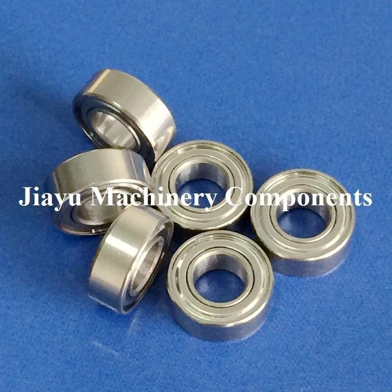 Free Shipping 10 PCS R188ZZ Bearings 1/4 X 1/2 X 3/16 Inch Ball Bearings RI-814ZZ