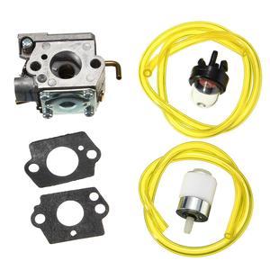 Карбюратор в сборе, прокладки, Праймер, лампочка, топливный фильтр для Walbro, WT-682-1, MTD 753-04408