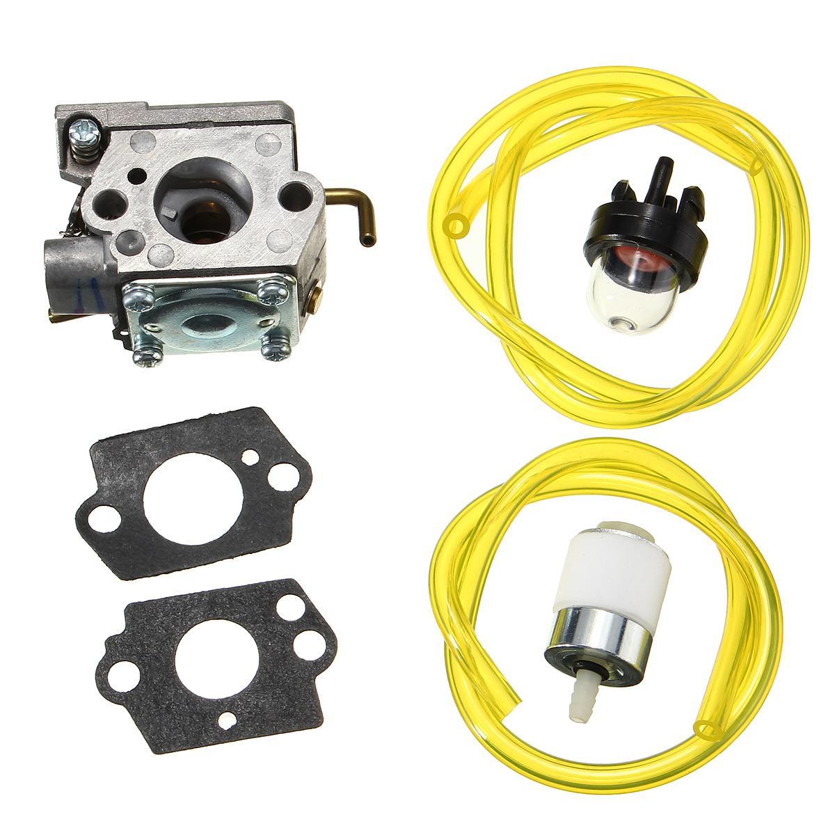 Carburetor Assembly Gaskets Primer Bulb Fuel Filter For Walbro WT-682-1 WT-682 MTD 753-04408Carburetor Assembly Gaskets Primer Bulb Fuel Filter For Walbro WT-682-1 WT-682 MTD 753-04408
