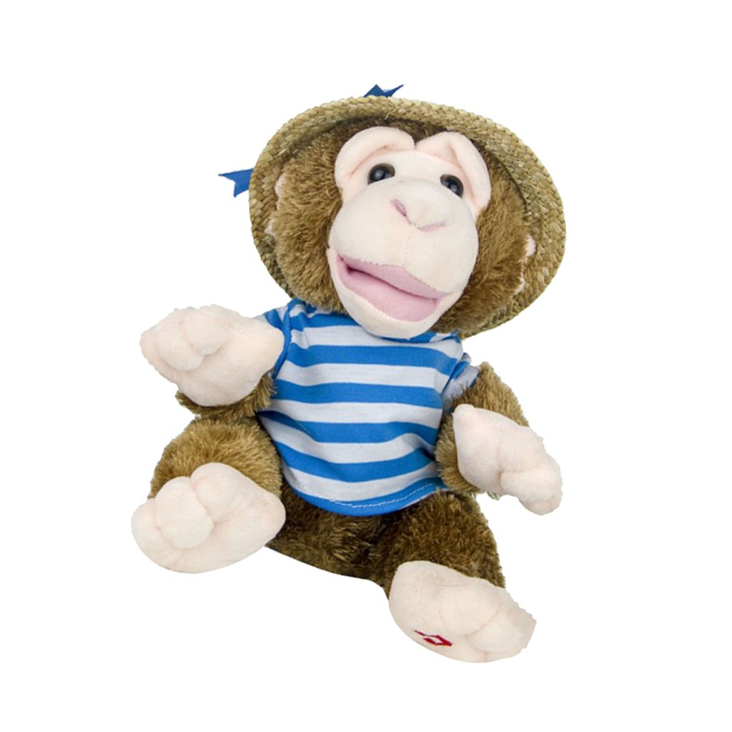 22cm Plush Monkey Doll Sing Swing Arm Home Decoration Educational Toys Birthday Gift for Baby Children Kids Toddler 1