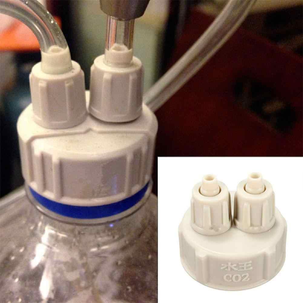 بسيطة حوض كاب زجاجة ل النباتات الحية CO2 الناشر مولد هواء نظام DIY أداة