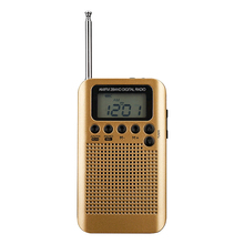 Mini Lcd Digital FM/AM Radio Speaker With Alarm Clock And Time Display Function 3.5mm Headphone Jack And Charging Cable стоимость