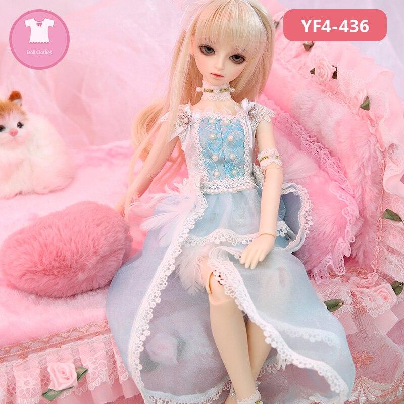 BJD Clothes Littlemonica Sophia 1/4 Body BJD SD Cute Dress Beautiful Doll Outfit Accessories KUKUCLARA 1
