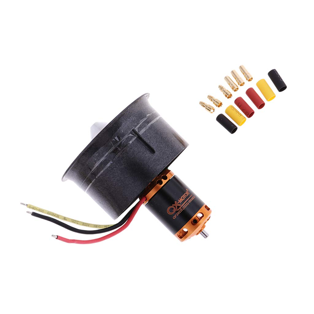 QF2822 3500KV 12 Blades 64mm Brushless Motor Engine 3 4S Lipo for RC Helicopter Remote Control Airplane Parts Accessories