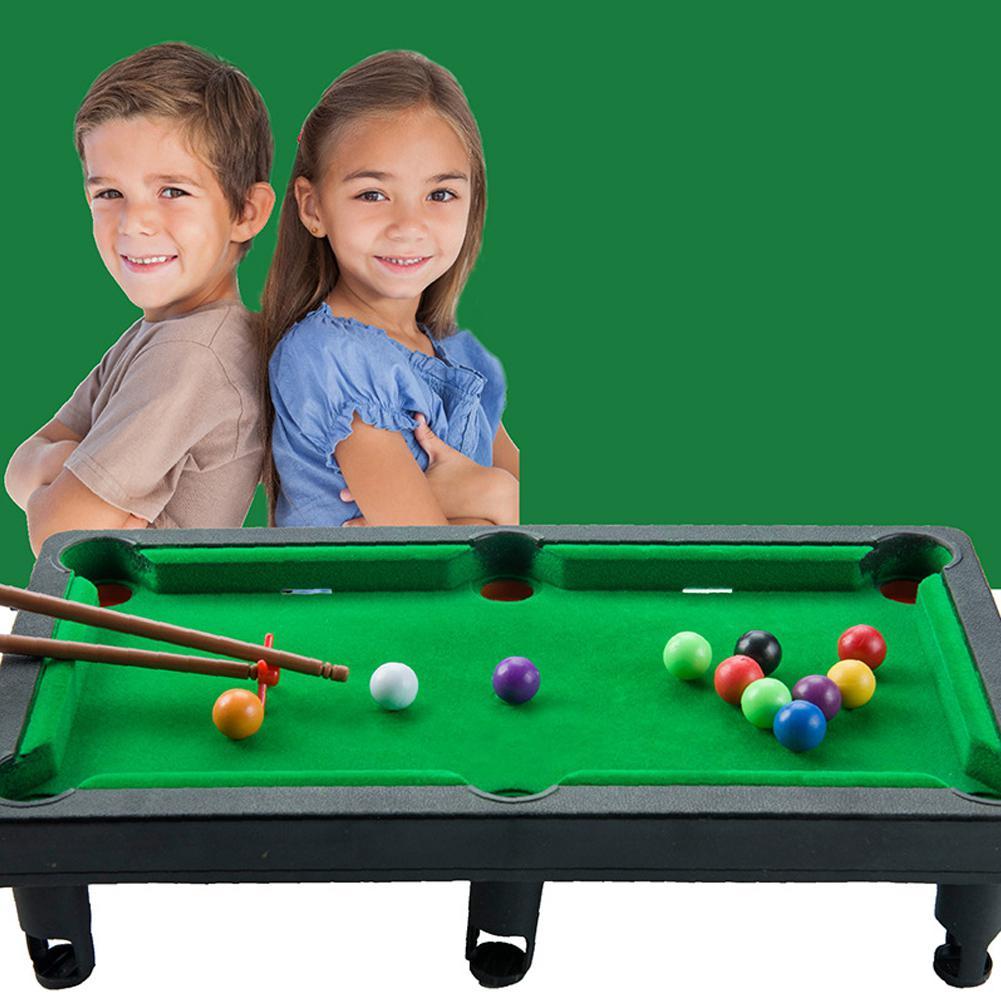 Mini Desktop Pool Table Children Billiard Table Kids Educational Toys Parent-child Interaction Supplies