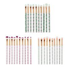 лучшая цена 10pcs Makeup Brushes Eye Shadow Foundation Blush Powder Brush Eyes Make Up Beauty Cosmetic Tool