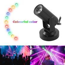 Звуковая активация, дискотека, Вращающиеся Шары, 3 Вт, RGB светодиодный свет для рождества, дома, KTV, рождественские, вечерние, свадебные, шоу, паб