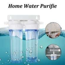 10″ Dual Dual Reverse Osmosis Faucet Tap Water Filter Health Purifier Cartridge Home Kitchen