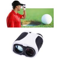 None 400 M Handheld Golf trainer accessories Range Finder 6 Times Telescope Angle Scan Distance Meter Tools