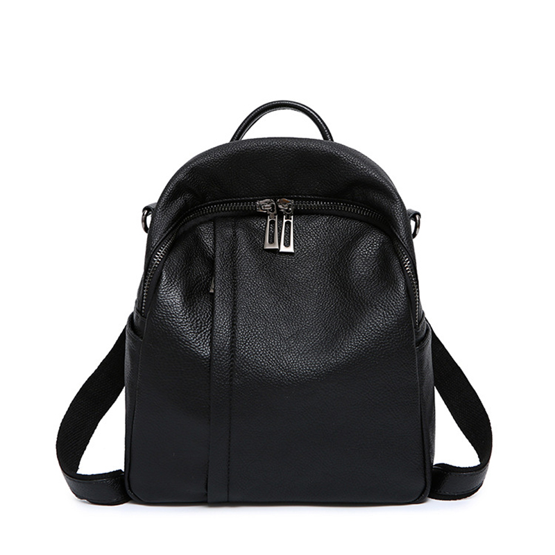 Genuine Leather Women Backpack Fashion Knapsack Female Single Shoulder Travel Bags High Quality Book Bag Rucksack School DaypackGenuine Leather Women Backpack Fashion Knapsack Female Single Shoulder Travel Bags High Quality Book Bag Rucksack School Daypack