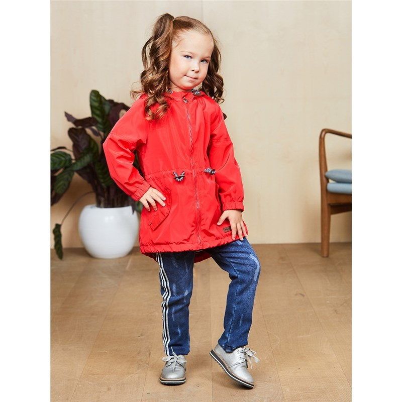 [Available with 10.11] Raincoat fabric for girls 100 4000