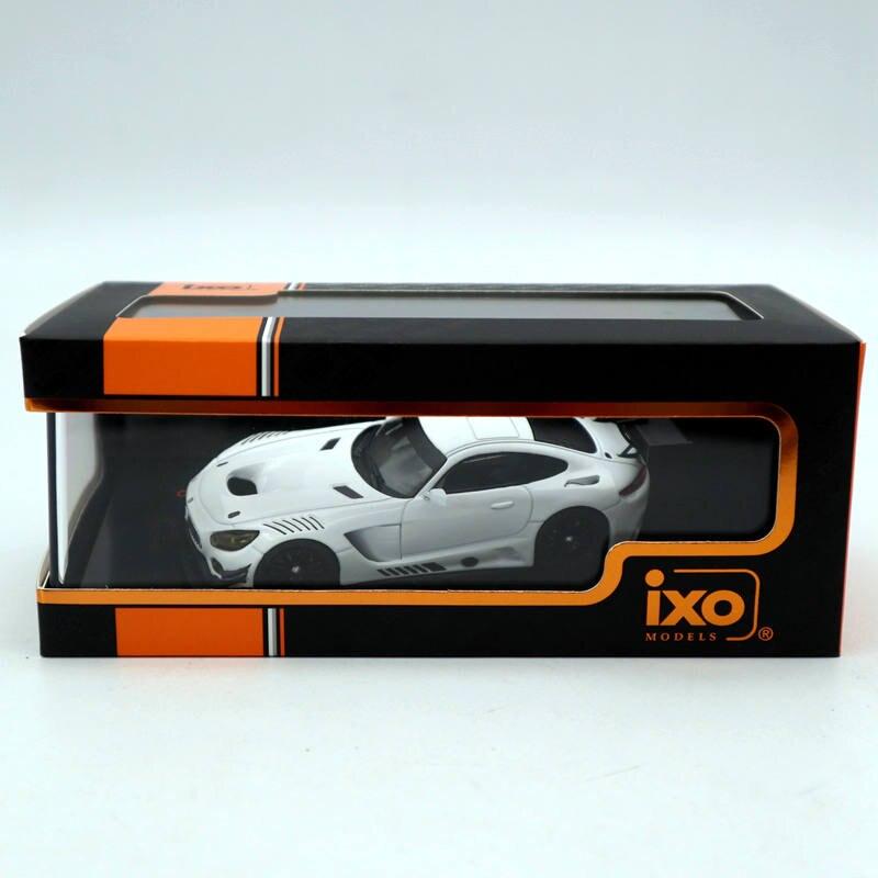 IXO 1:43 mercedes-benz AMG GT3 spécifications de course-blanc GTM121 moulé sous pression modèles série limitée voiture jouets