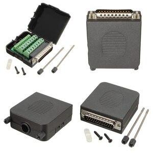 1 шт. штыревые клеммы винтовой кабель Соединительный модуль DB25 D-Sub 25 Pin электрический сварочный Бесконтактный разъем